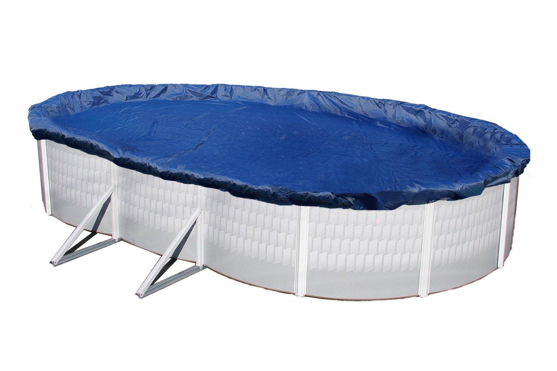 Winter Pool Cover Above Ground 16x32 Oval Arctic Armor 15 Yr Warranty W Clips Ebay